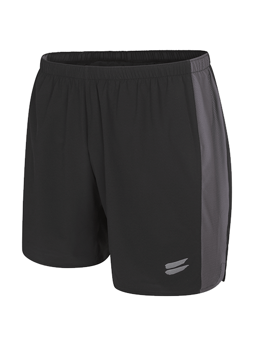 Tribesports Core Men running shorts black charcoal