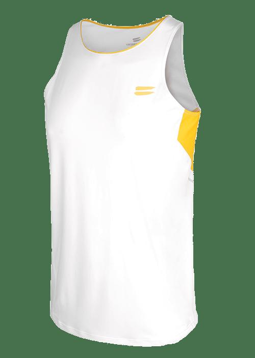 Tribesports Core Running Singlet White