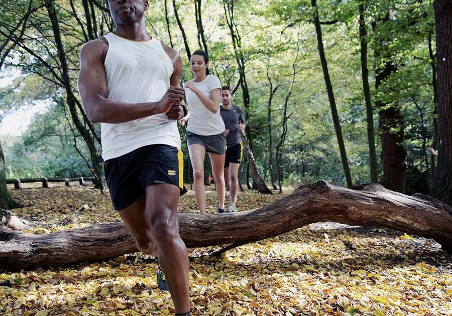 Tribesports Core Running Singlet White 1