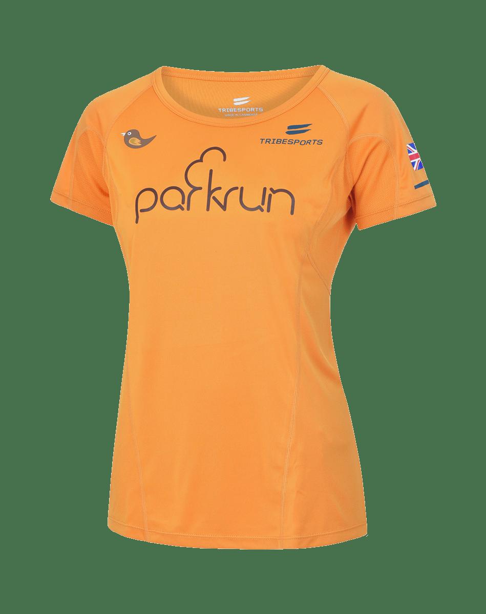 parkrun men's performance long sleeve t-shirt Global