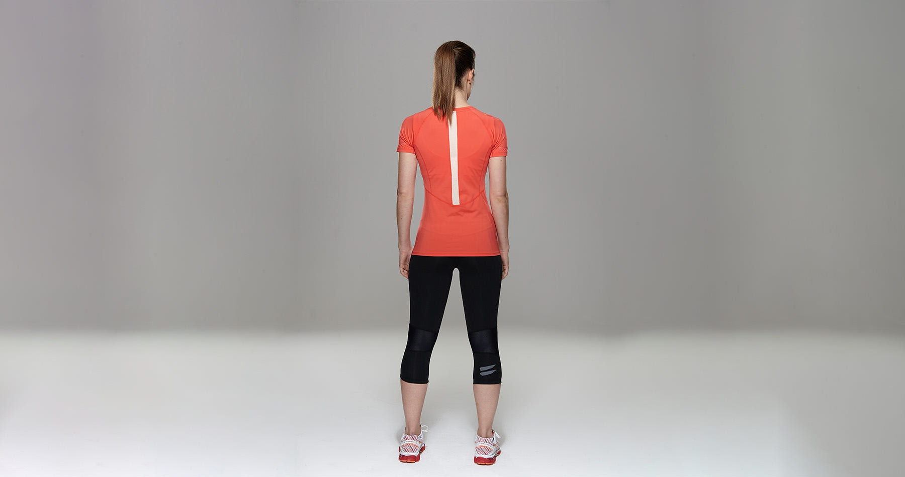 Tribesports Core Women's Short Sleeve Top Coral  6