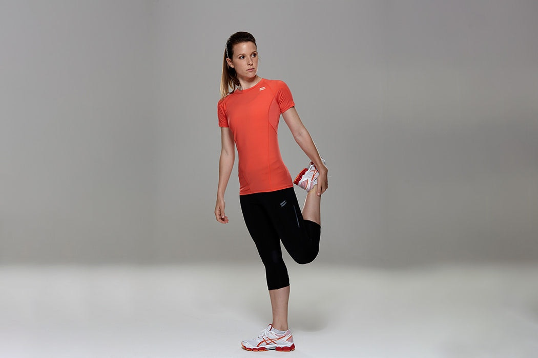 Tribesports Core Women's Short Sleeve Top Coral 1