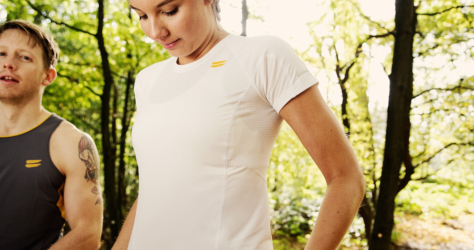 Tribesports Core Women's Short Sleeve Top White 3