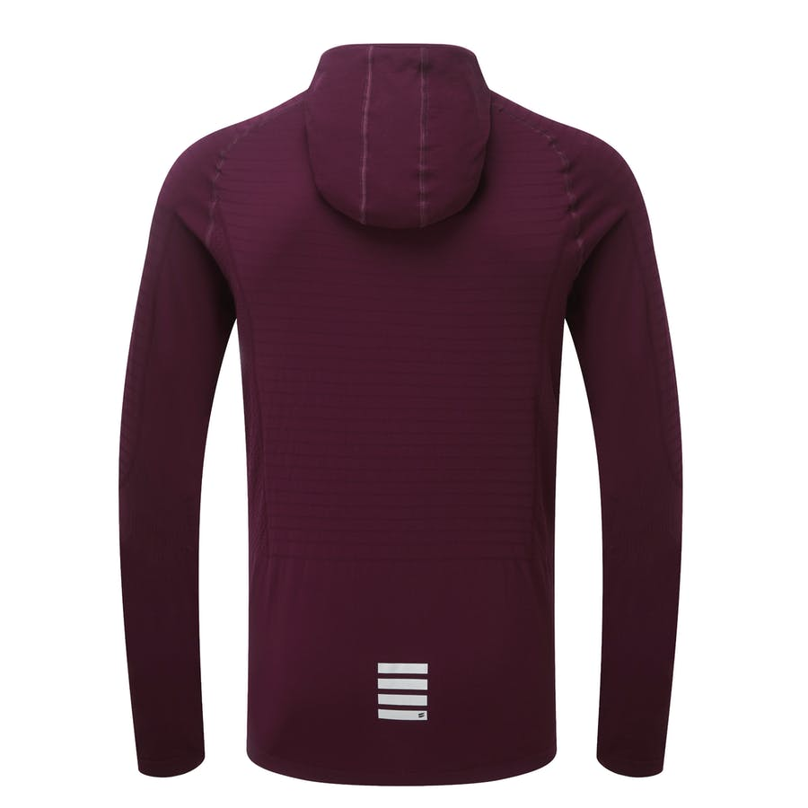 Engineered Hoodie - Burgundy