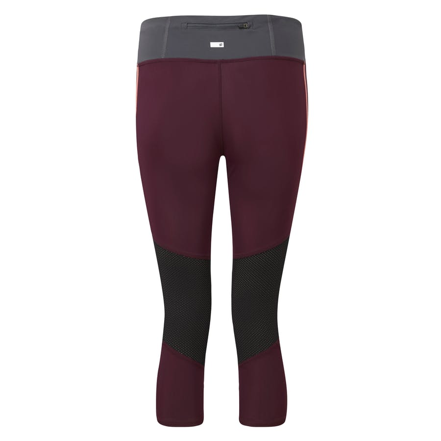 Running Capri - Burgundy