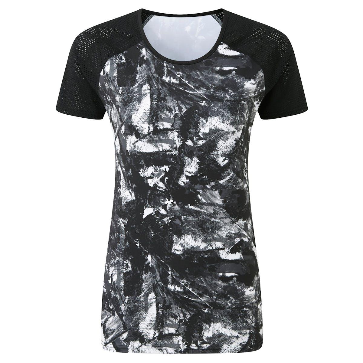 3b9216a3 Women's Short Sleeved Print Running T-shirt - Print Design - TribeSports  Sportswear & Apparel - Tribesports