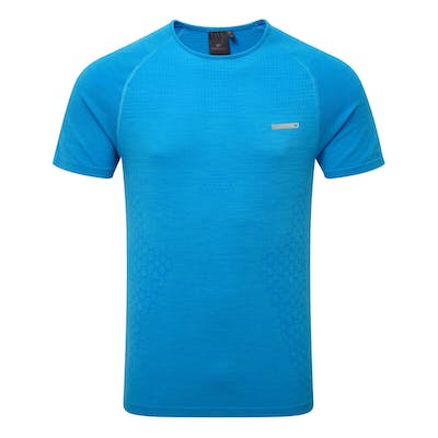 Short Sleeve T-shirt - Fresh Blue Melange