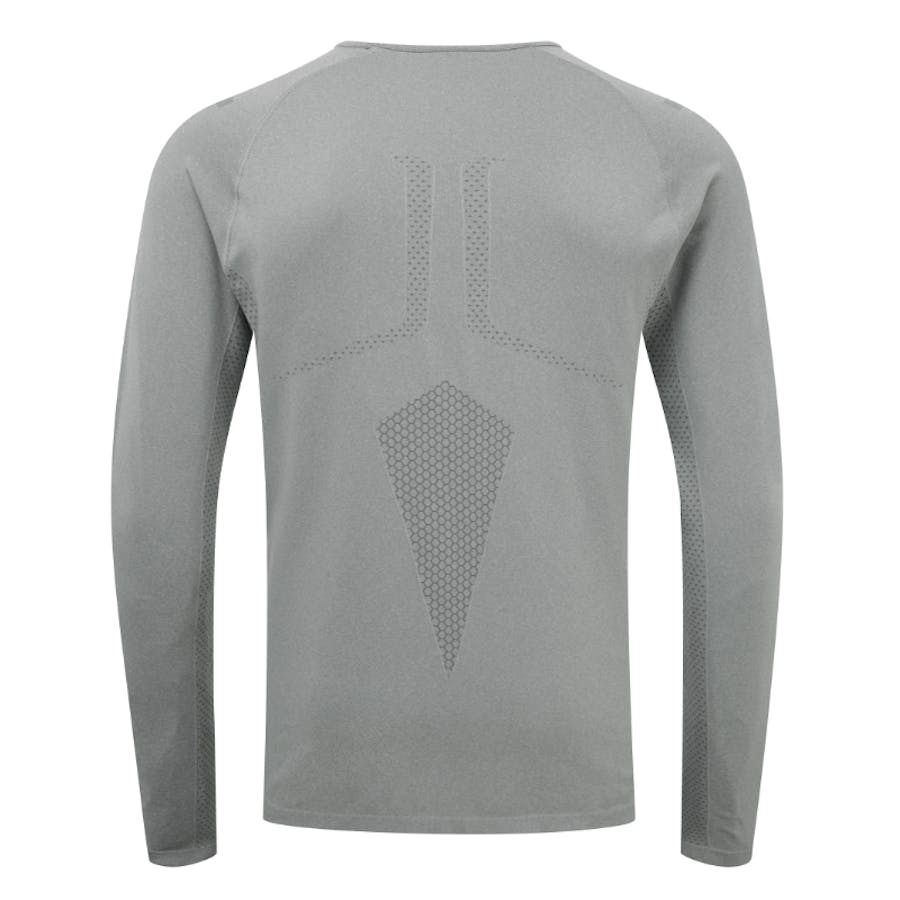 Engineered Long Sleeved Tee - Stone Grey