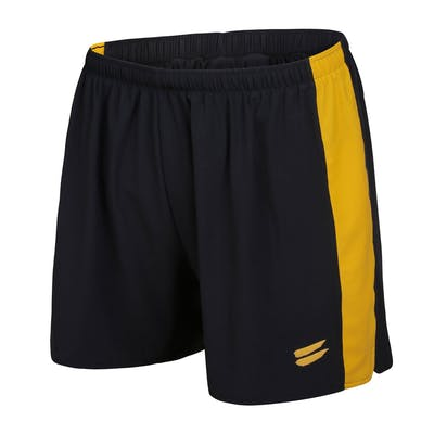 Men's Running Shorts - Black / Yellow , Tribesports - 1
